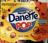 Danette Pop saveur Vanille Billes Choco Caramel Salé - Produto