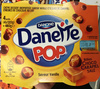 Danette Pop saveur Vanille Billes Choco Caramel Salé - Product