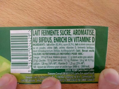 Yaourt Activia - Product - fr