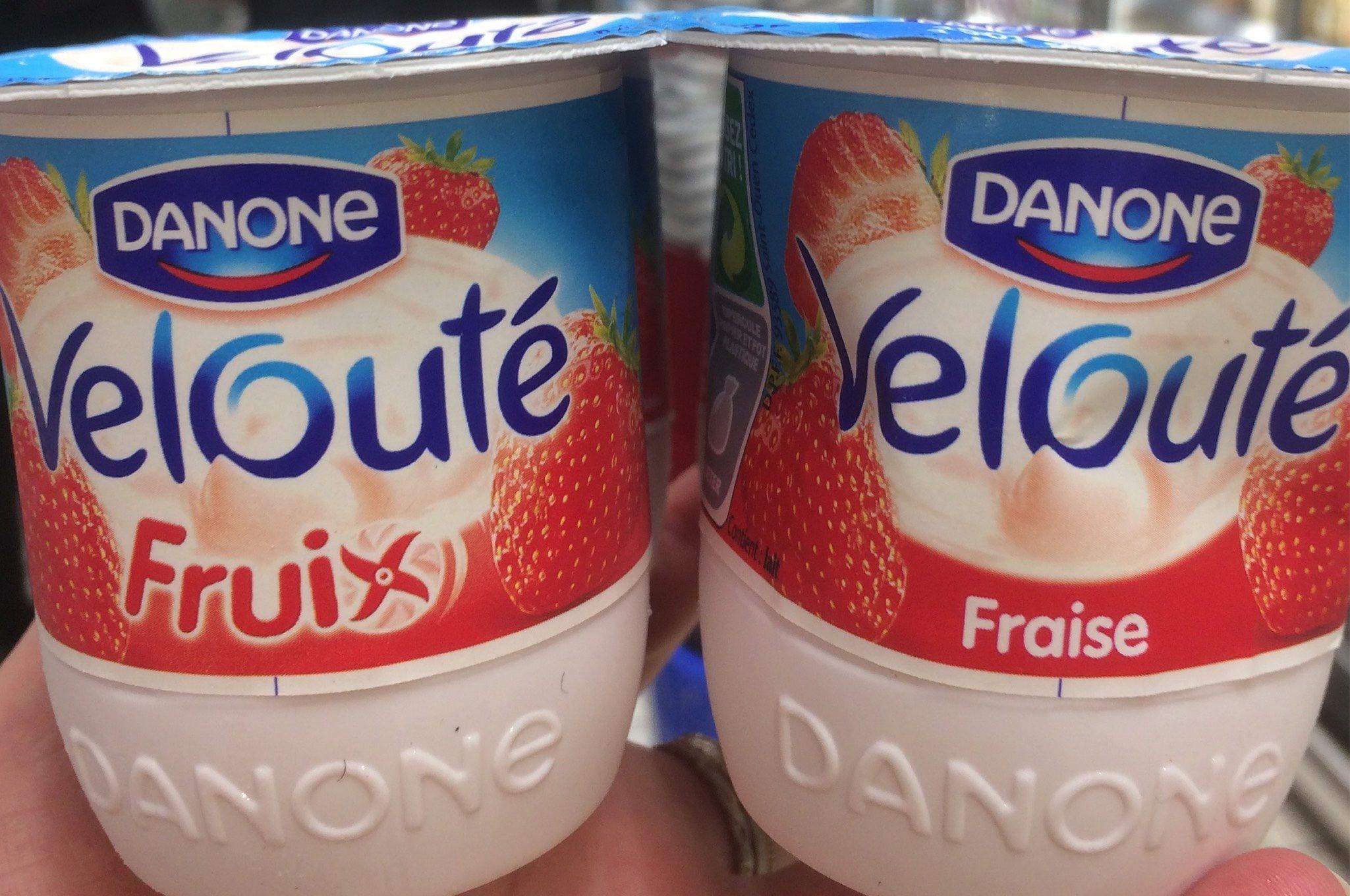 Velouté fruix, fraise - Product