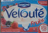 Velouté Fruix Fraise Framboise Fruits Rouges - Prodotto - fr