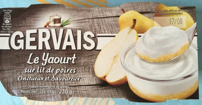 Le yaourt sur lit de poires - Produit - fr
