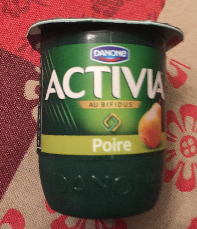 Activia poire - Produit - fr