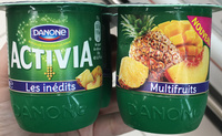 Activia Les Inédits Multifruits - Product