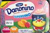 Danonino Superdino Saveur Framboise / Pêche - Prodotto