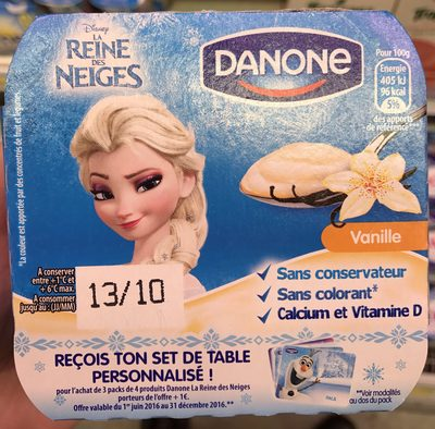 La Reine des Neiges Vanille - Product - fr