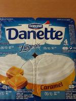 Danette Le Liégeois Caramel - Product - fr