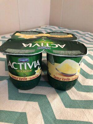 Activia saveur vanille - Product - fr