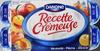 Recette Crémeuse, Mirabelle-Pêche-Abricot - Produit