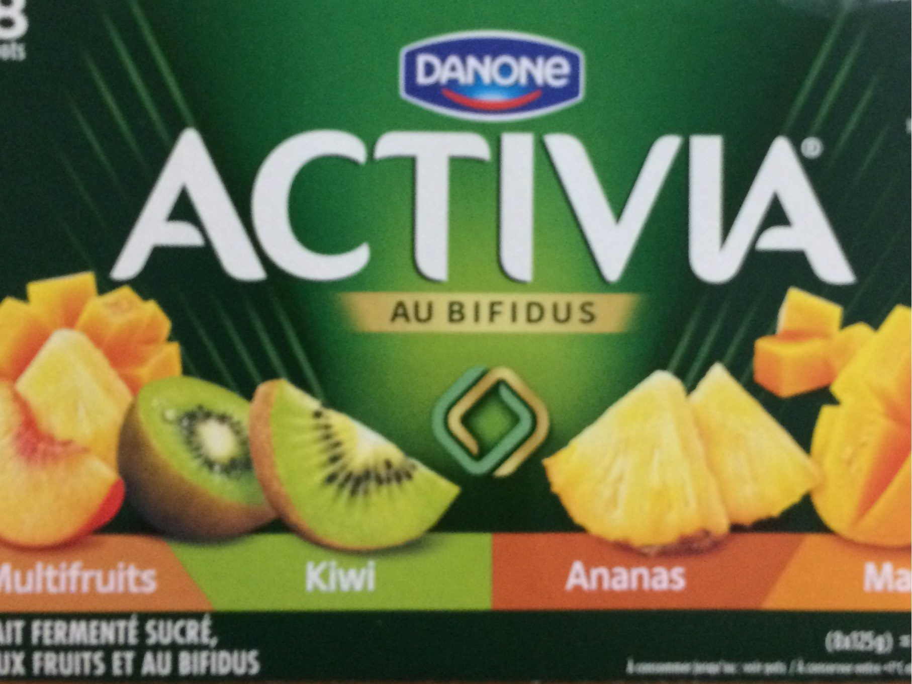 Yaourts fruits exotiques Activia - Product