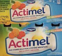 Actimel multifruits - Product - fr