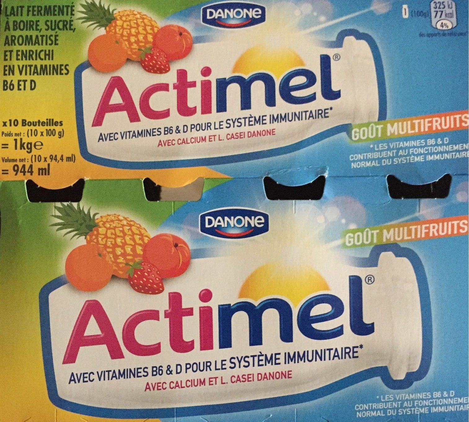 Actimel multifruits - Product