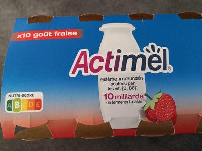 Actimel goût fraise - Product - fr