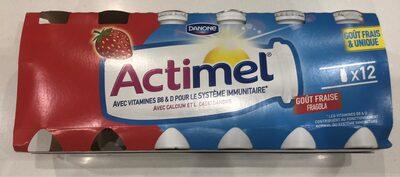 Actimel Gout Fraise - Product - fr