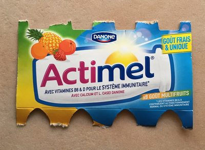 Actimel Gout Multi Fruits - Produkt - fr
