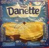 Danette saveur vanille & chocolat - Produit