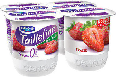 Taillefine aux fraises 0% matières grasses - Produit - fr