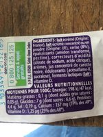 Taillefine cerise - Ingrédients - fr