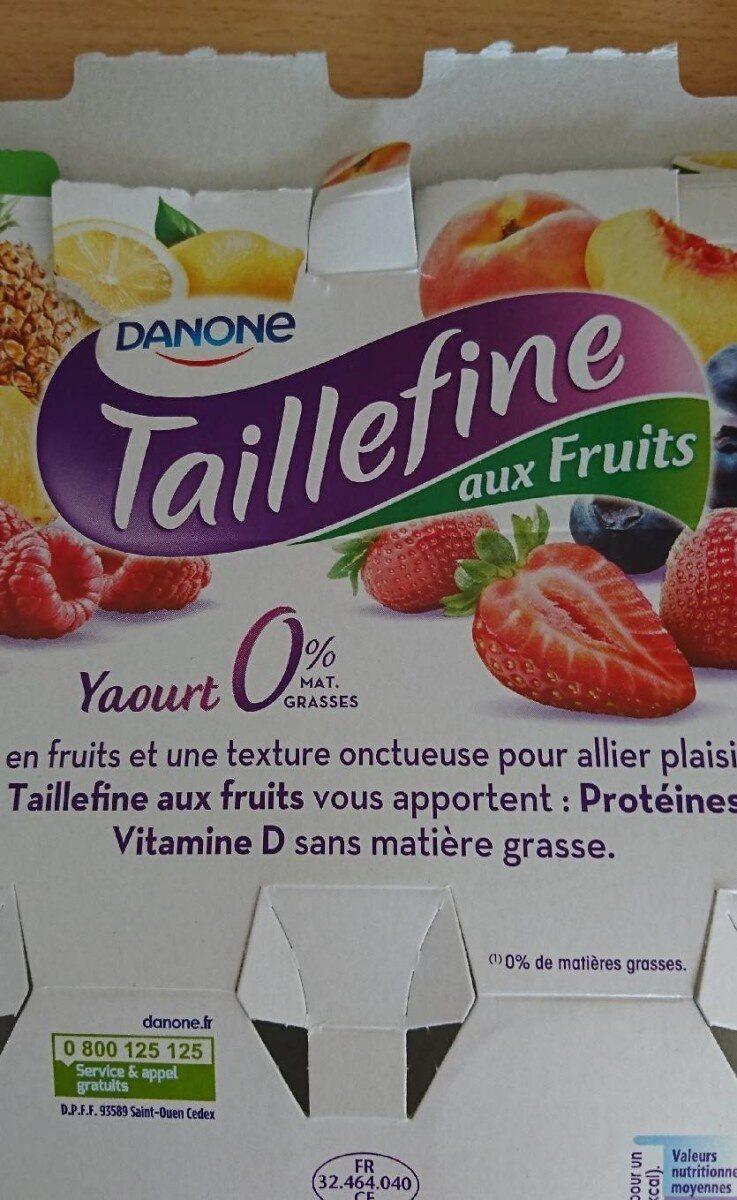 Yaourt taillefine aux fruits - Prodotto - fr