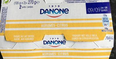 Yaourt Agrumes-Citrus - Product