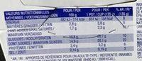 Yaourt Agrumes-Citrus - Voedingswaarden
