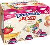 Danonino à boire Pêche-abricot & Fraise-banane - Producto