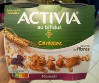 Activia au bifidus Céréales - Produit