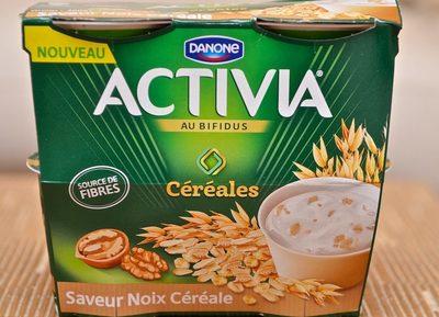 Activia Céréales saveur Noix Céréale - Produit - fr