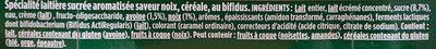 Activia Céréales saveur Noix Céréale - Ingrédients - fr