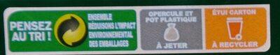 Activia Céréales saveur Noix Céréale - Instruction de recyclage et/ou information d'emballage - fr