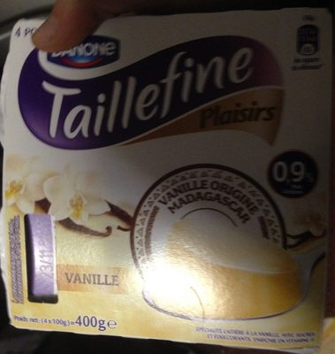 Plaisirs Vanille - Produit
