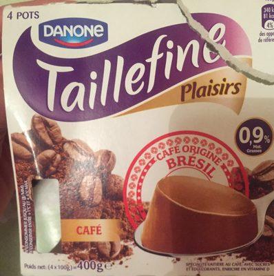 Spécialité laitière au café TAILLEFINE plaisirs - 1