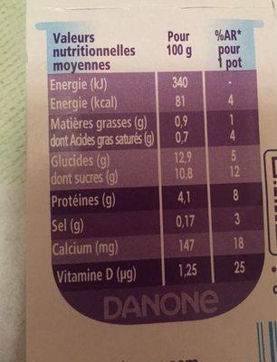 Spécialité laitière au café TAILLEFINE plaisirs - 2