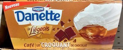Le Liégeois Café Croquant sur Lit de Chocolat - Product