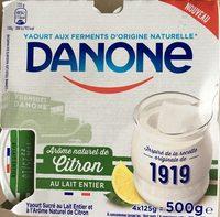 Yaourt 1919 arôme citron - Product