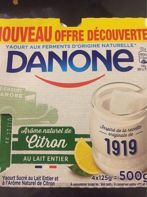 Arome naturel de  citron - Product