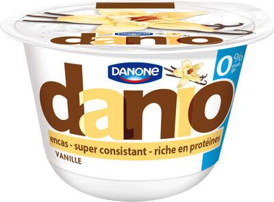 Danio Vanille 0% MG - Produit - fr