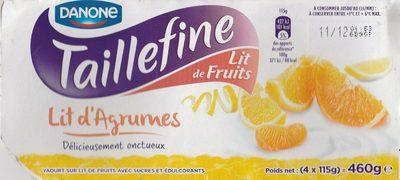 calorie Taillefine Lit de Fruits