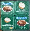Danette chocolat saveur noisette - Product