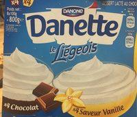 Le liegeois vanille chocolat - Produit - fr