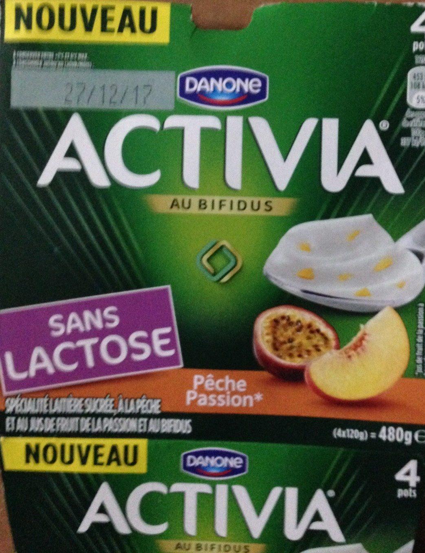 Activia Pêche Passion - Produit - fr