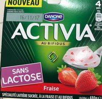 Activia sans lactose fraise - Product