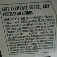Activia - Ingredients