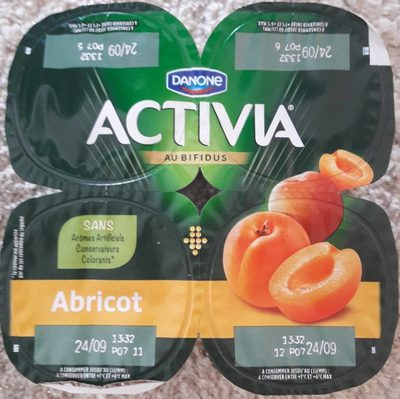 Activia abricot - Product - fr