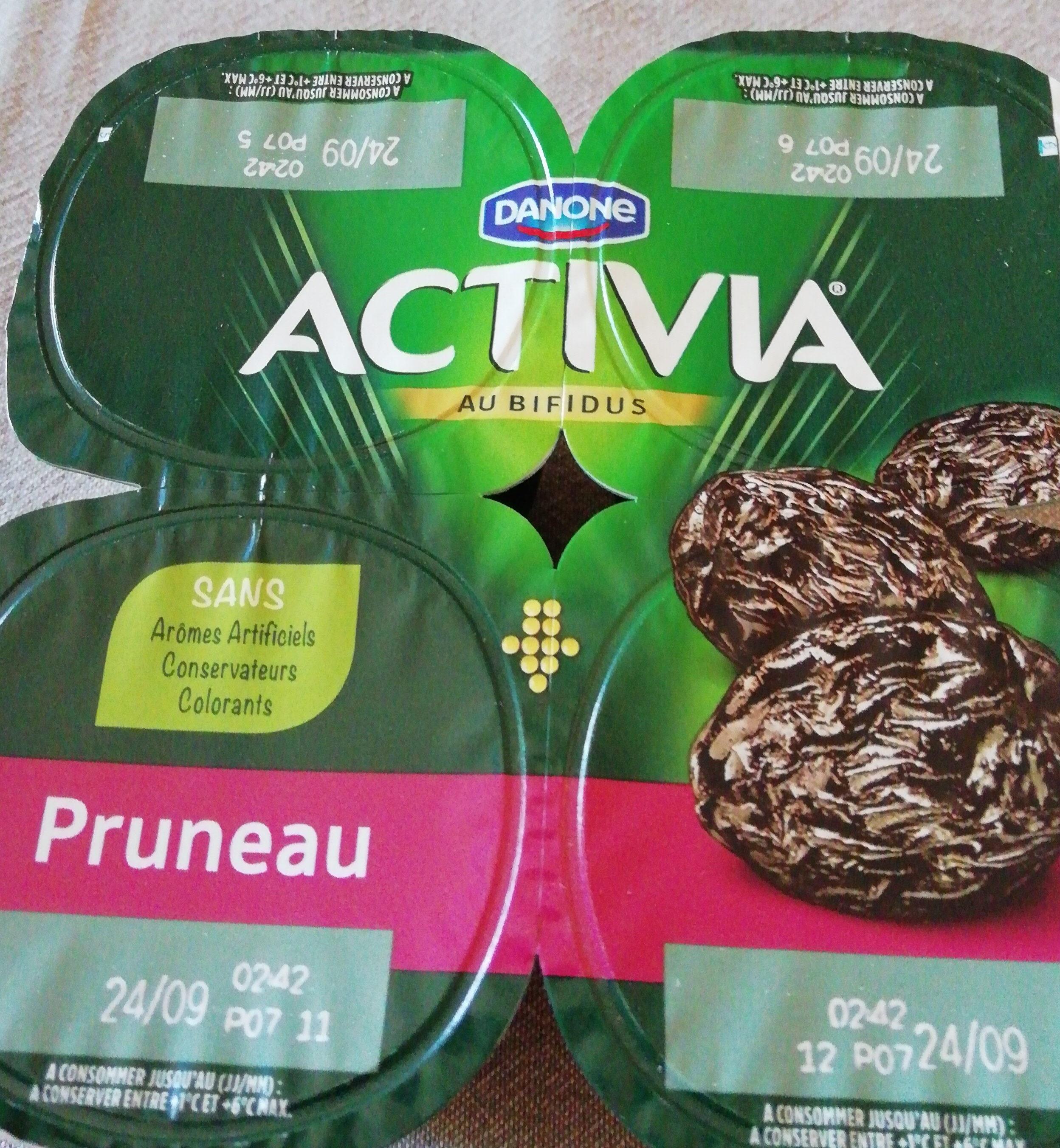 Activia saveur Pruneaux - Product