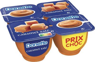 Danette Caramel salé - Produit - fr