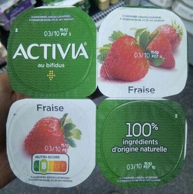 Activia fraise - Produit