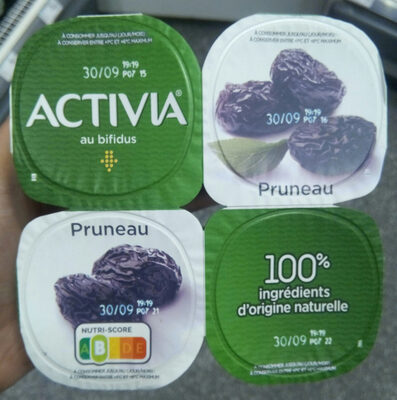 Activia pruneau - Product