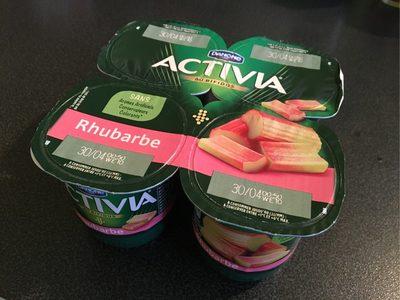 Activia rhubarbe - Produit