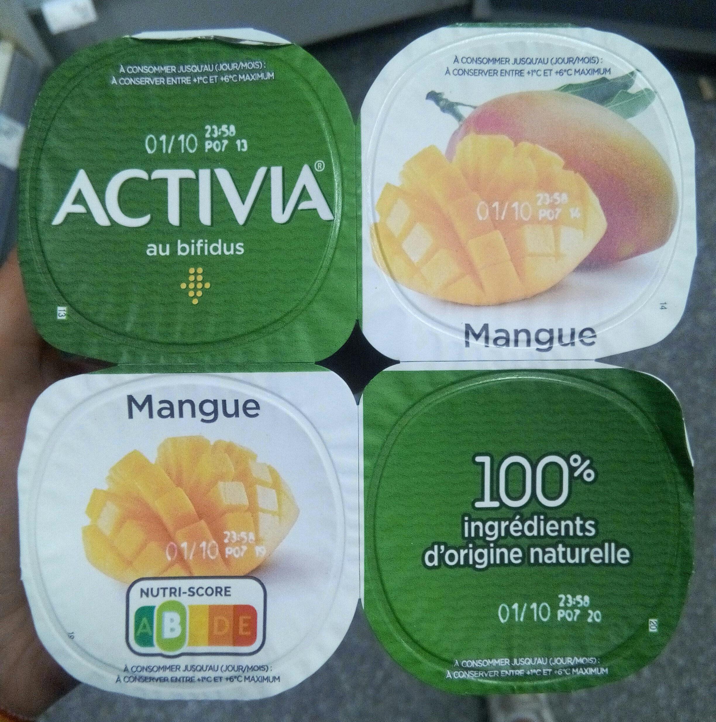 Activia au bifidus mangue - Product